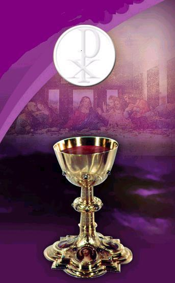 holy eucharist 1322 the holy eucharist completes christian initiation those who have been raised to the dignity of the royal priesthood by baptism and configured more deeply to christ by confirmation participate with the whole community in the lord's own sacrifice by means of the eucharist.